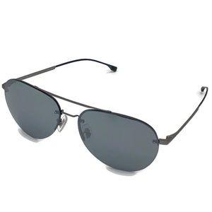 Hugo Boss 62mm Slim Aviator Sunglasses